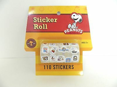PEANUTS BY SCHULTZ CHARLIE BROWN AND GANG STICKER ROLL - 110 -