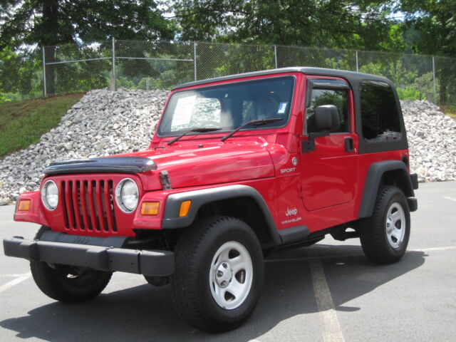 JEEP WRANGLER 2006 SPORT EDITION 4.0 6-CYL AUTO RIGHT HAND DRIVE LOW RESERVE A+