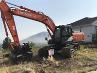 Excavation/landscaping services