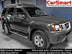 2012 Nissan Xterra V6, 4x4, 1 Owner, Fresh Tires, Spotless!