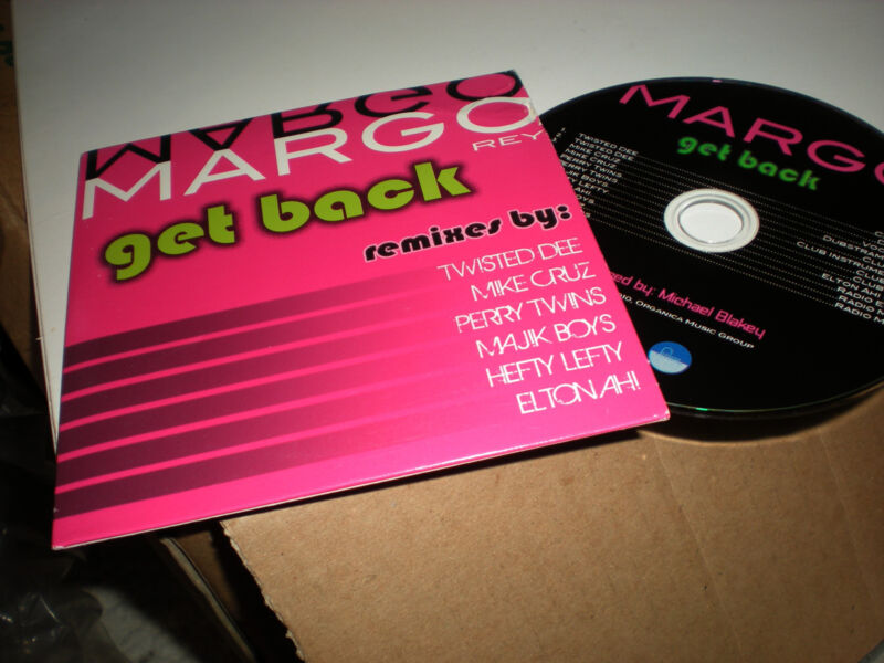 Margo Rey Get Back CD SINGLE Twisted Dee Mike Cruz Perry Twins