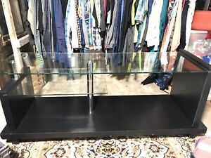 Black media and TV stand