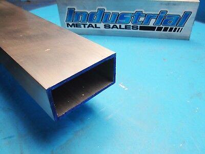 1-12 X 3 X 48-long X 18 Wall 6063 T52 Aluminum Rectangle Tube--1.5 X 3