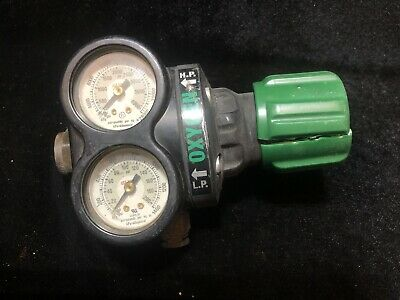 Vg Condition Victor Ess4-125-540 Oxygen Regulator Minimal Use