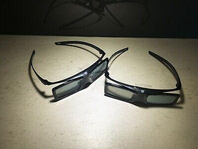 2 x New Original Sony Active 3D Glasses TDG-BT400A