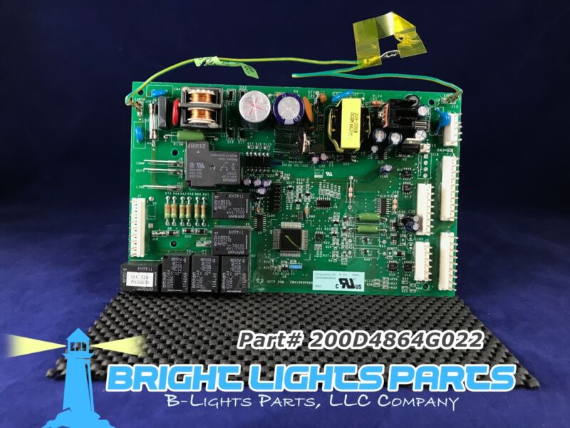Ge Main Control Board For Ge Refrigerator 200d4864g022 Green