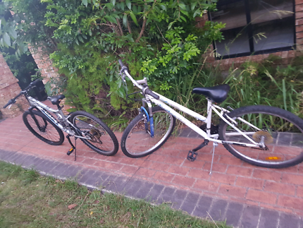 2 bikes 26in for sale adult sizes