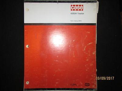 Case Model 430 Construction King Wheel Tractor Parts Catalog Manual Original Oem