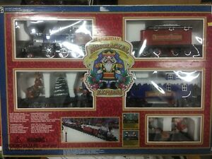 Vintage Holiday Nutcracker Train set