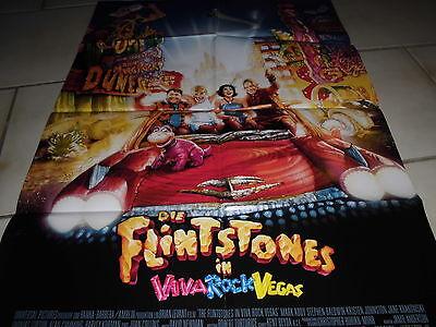 605 , KINO / FILM Plakat , DIE FLINTSTONES in VIVA ROCK VEGAS , TOP (Flintstones Dekorationen)