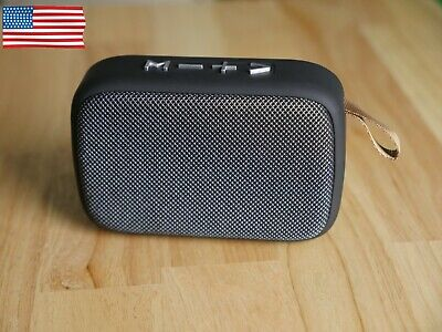 Best Cheap Bluetooth 5.0+EDR Speaker With FM Radio TF Card USB Stick Readers USA