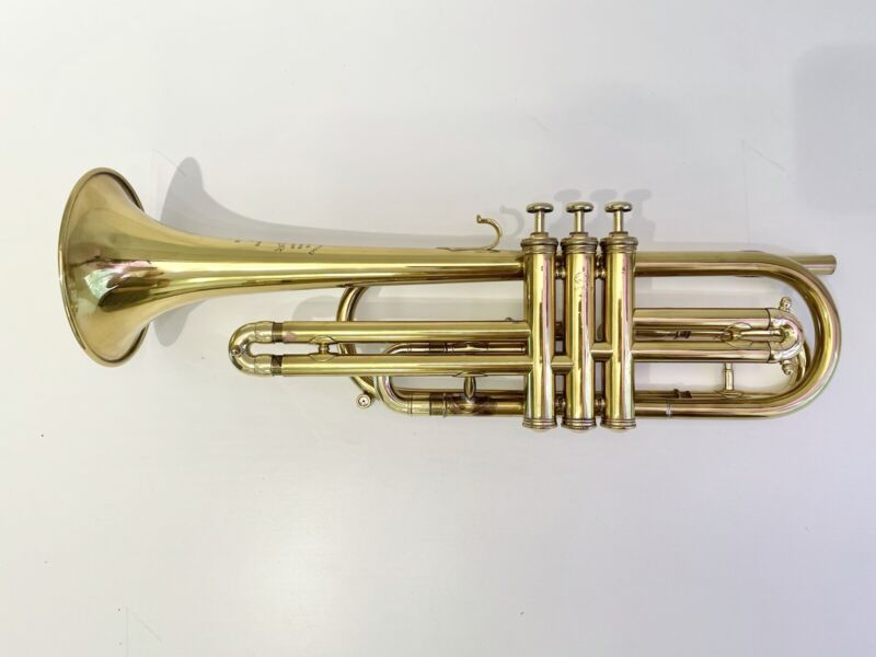 French Besson Tenor Trumpet in F