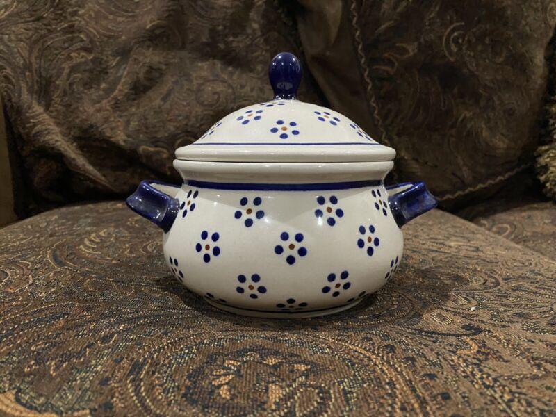 Boleslawiec Polish Pottery - Decorative Pot