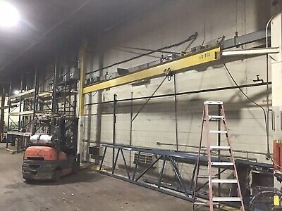 Jib Crane 12 Ton Foor To Ceiling 24 Span Overhead Cranes Up To 15 Ton Also