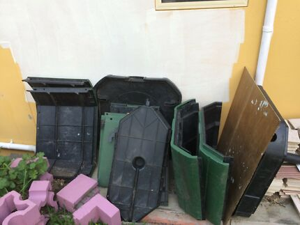 Demountable Green compost bin