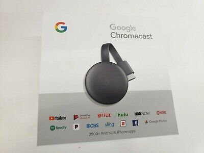 GOOGLE CHROMECAST NC2-6A5  , new , opoen