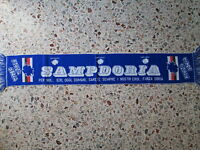 D8 Sciarpa Sampdoria Uc Football Club Calcio Scarf Bufanda Echarpe Italia Italy -  - ebay.it