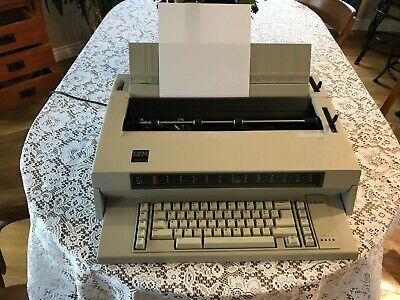 Vintage Ibm Wheelwriter 3 674x Electronic Typewriter 1984 W Ac Cord