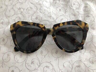 Karen Walker Number One Sunglasses Tortoise Shell