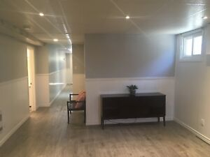 Bright and specious walkout basement apartment