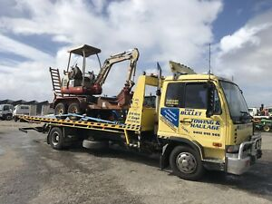 tilt tray towing services