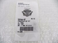 07-17 Harley Davidson 883 1200 Seat Fender Nut Kit 59768-97