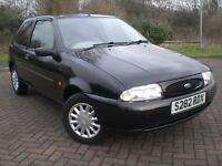 FORD FIESTA 1.2 AUTOMATIC ZETEC 1998 S REG ONLY 42,000 MLS