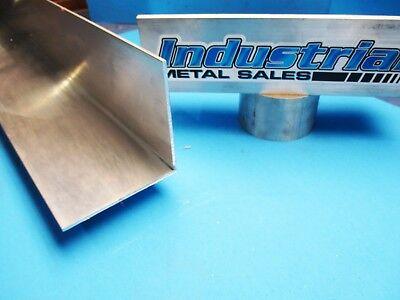 4 X 4 X 60 Long X 18 Thick 6063 T52 Aluminum Angle--4 X 4 X 18 Angle
