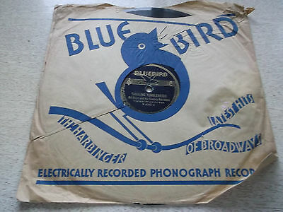 Bluebird Record Bill Boyd 78 RPM Tumbling Tumbleweeds Twilight Sweetheart Lane