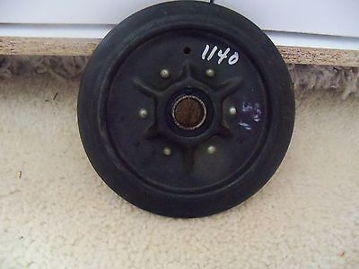 """Vintage Snowmobile 6 1/2"""" Idler Wheel with 1945-RS Bearing"""