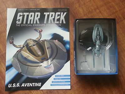 EAGLEMOSS STAR TREK STARSHIPS COLLECTION USS AVENTINE SPECIAL EDITION IN STOCK