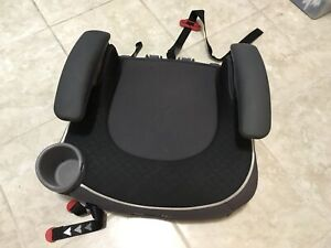 Child safety seat: backless car seat for children 4-8 years old