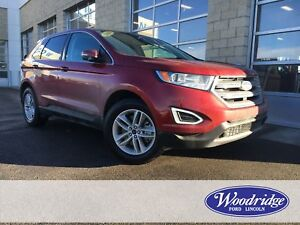 2018 Ford Edge SEL 2.0L, NAVIGATION, SUNROOF, LEATHER HEATED...