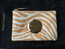 Mimco Amber Zebra Small Pouch BNWT Toukley Wyong Area Preview