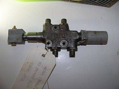 Used -hydraulic Control Double Action.