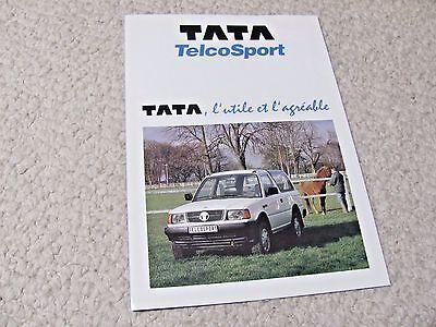 1994 TATA TELCOSPORT (FRANCE) SALES BROCHURE.