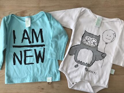 Minti baby top and onesie