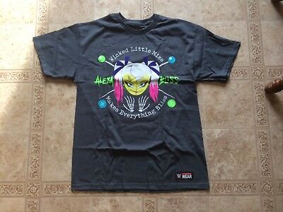 Alexa Bliss Wwe Authentic Slam Crate Exclusive Mens Shirt Large New Loot Crate