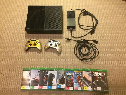 XBOX ONE 500GB + 9 GAMES