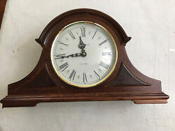 MINT !!!  HOWARD MILLER Mantel Clock (635-107) Quartz & Dual Chime Works Great