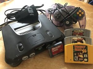 Nintendo 64 and accessories