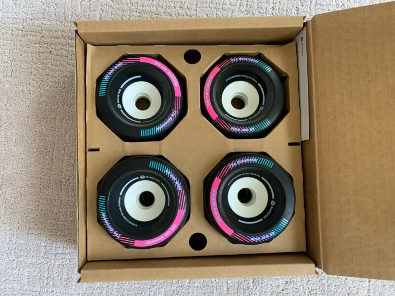 Boosted Board Wheels - 105s (New in Box)*Extremely Rare* IN-HAND