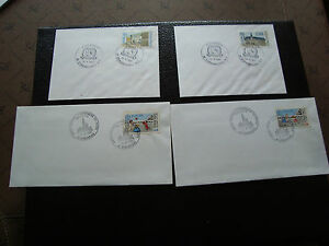 FRANCE - 4 enveloppes 1989/1990 (europa) (cy47) french