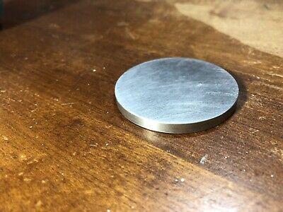 Aluminum Round Disk 2.0 X 316 Machined Edges