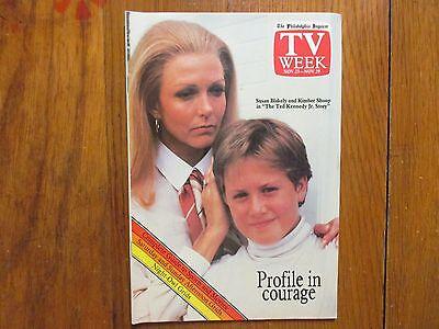 Nov 23-1986 Philadelphia Inquirer TV Week Mag(KIMBER SHOOP/THE MUNSTERS' REVENGE