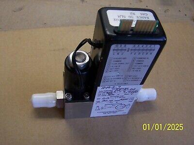 Brooks 5850e Mass Flow Controller Gas Ar 30 Slm N2 Good