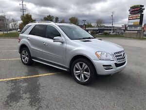 2011 Mercedes ML 350 4MATIC GAS Leather Roof Nav Rear Camera