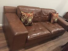 ** Brown leather couches ** Gungahlin Gungahlin Area Preview
