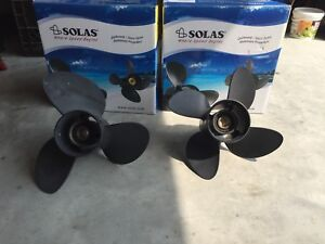 2 boat propellers brand new