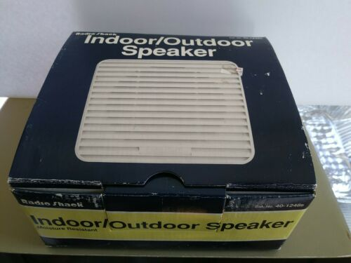 COLLECTIBLE RADIO SHACK 40-1248B Indoor -Outdoor Extension Speaker - $19.50